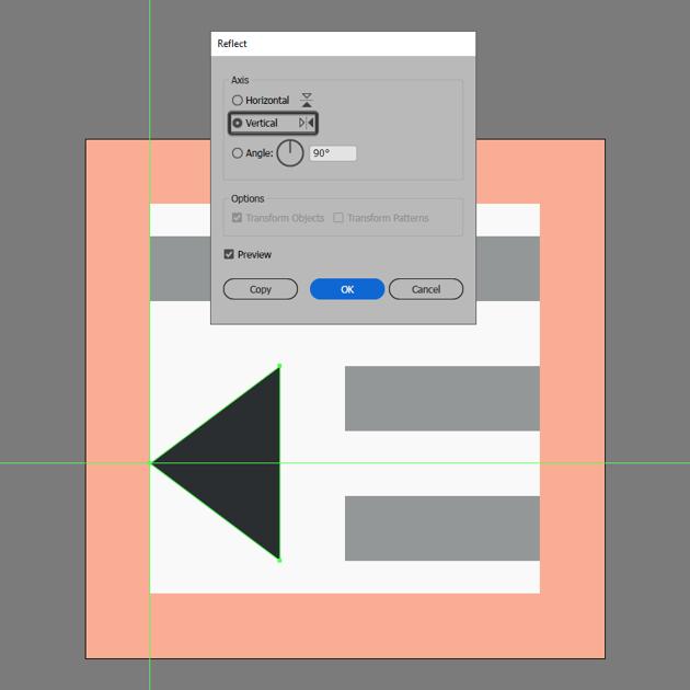 finishing off the decrease indent icon