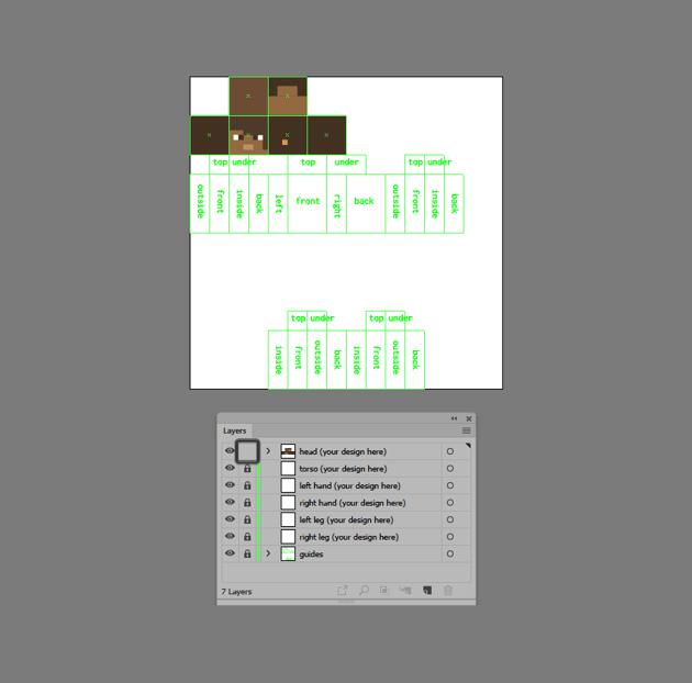 example of locking the custom layers