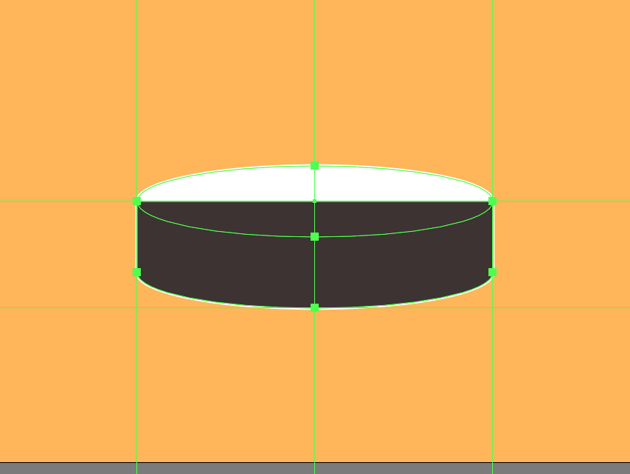 creating the main shape for the lower section of the wooden base