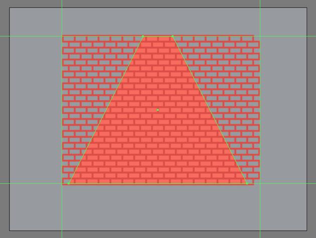 adding the remaining rows of bricks
