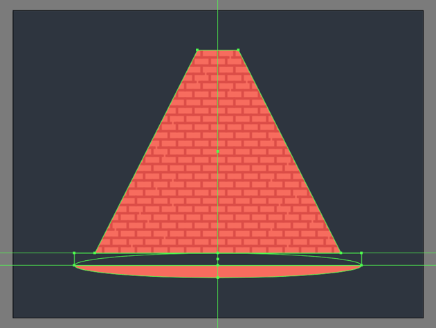 creating the main shape for the sidewalk