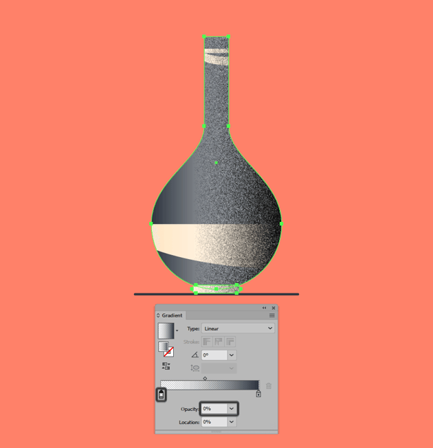 adjusting the position of the grain texture