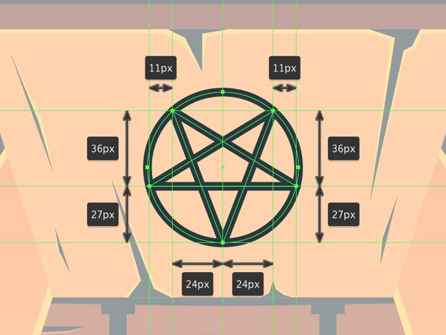drawing the pentagram