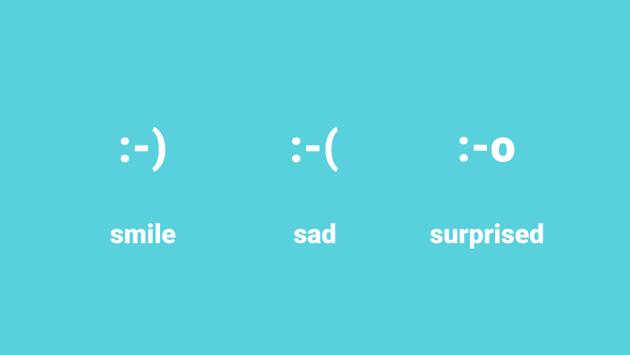 example of basic emoticons