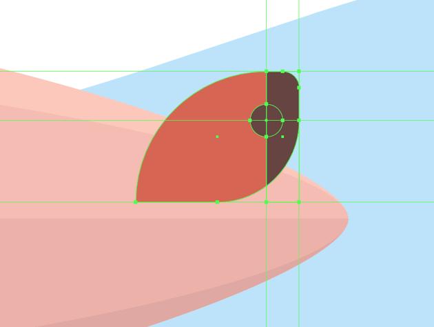 adding details to the upper rudder