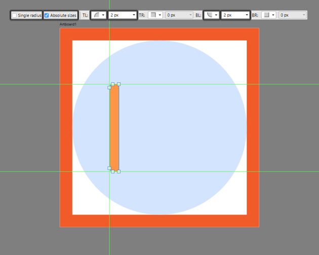 adjusting the shape of the side section of the ruler