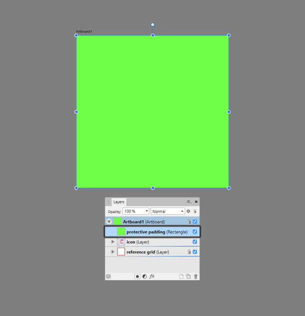creating the main shape for the clipping mask