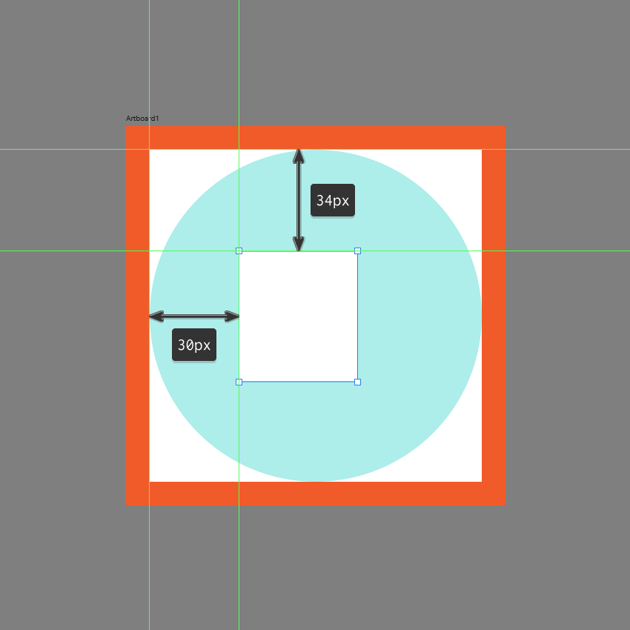 creating the main shape for the front section in ad