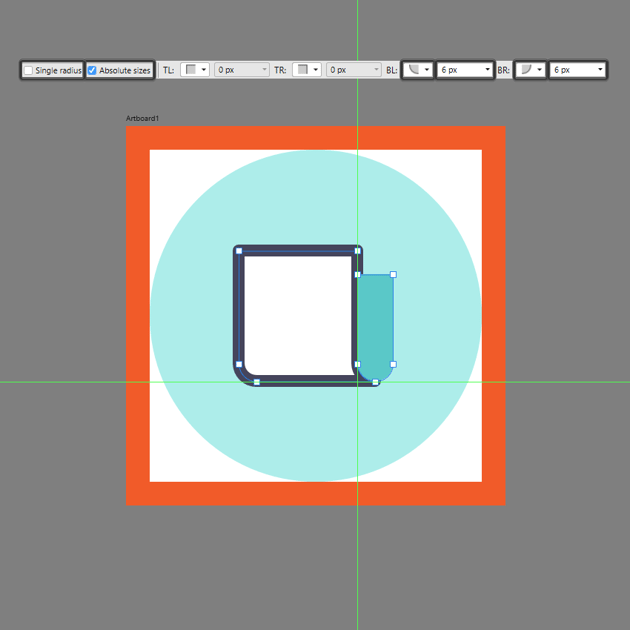 creating the main shape for the side section in ad