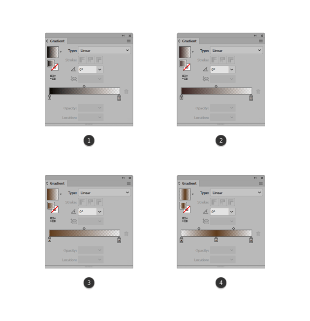 creating the custom gradients