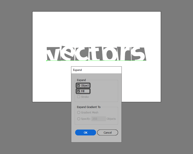 expanding the custom text