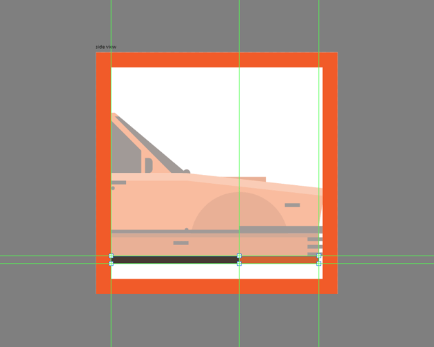 adding the lower bumper section