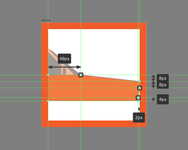 creating the main shape for the lower body of the car