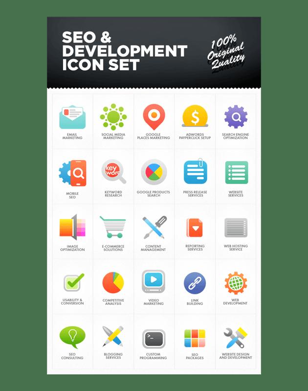 seo icons example