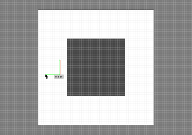 drawing a path using the pen tool tool inside of pixel preview mode