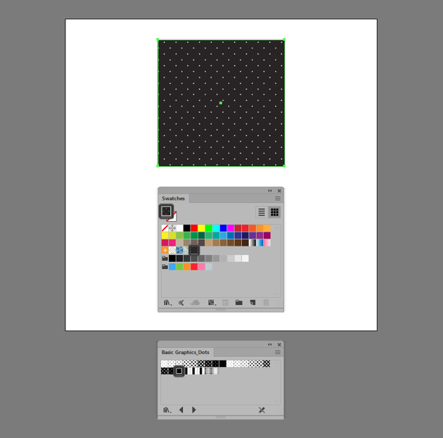 dot pattern illustrator