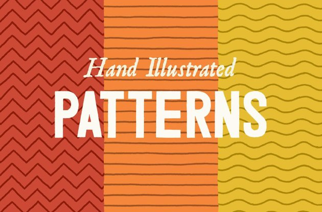 Hand Illustrated Patterns