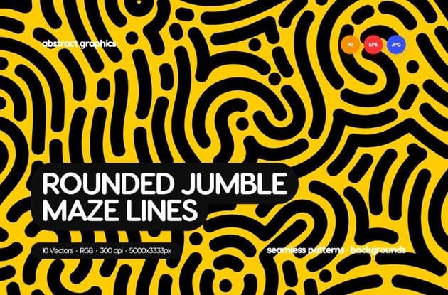 Maze Lines Patterns