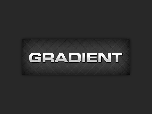 example of using a gradient overlay