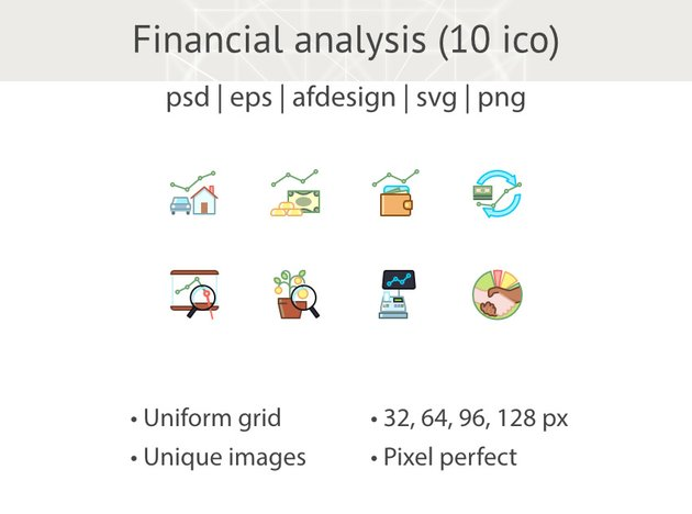 Financial Analysis Icons