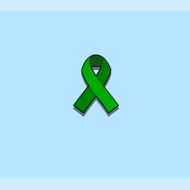 World Mental Health Day 2018 green ribbon