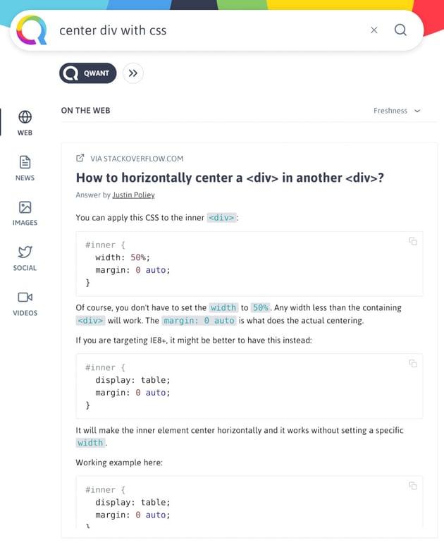 Inline Code Samples