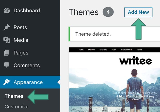 wordpress theme repositories