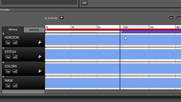 Rendering in Autopano video pro