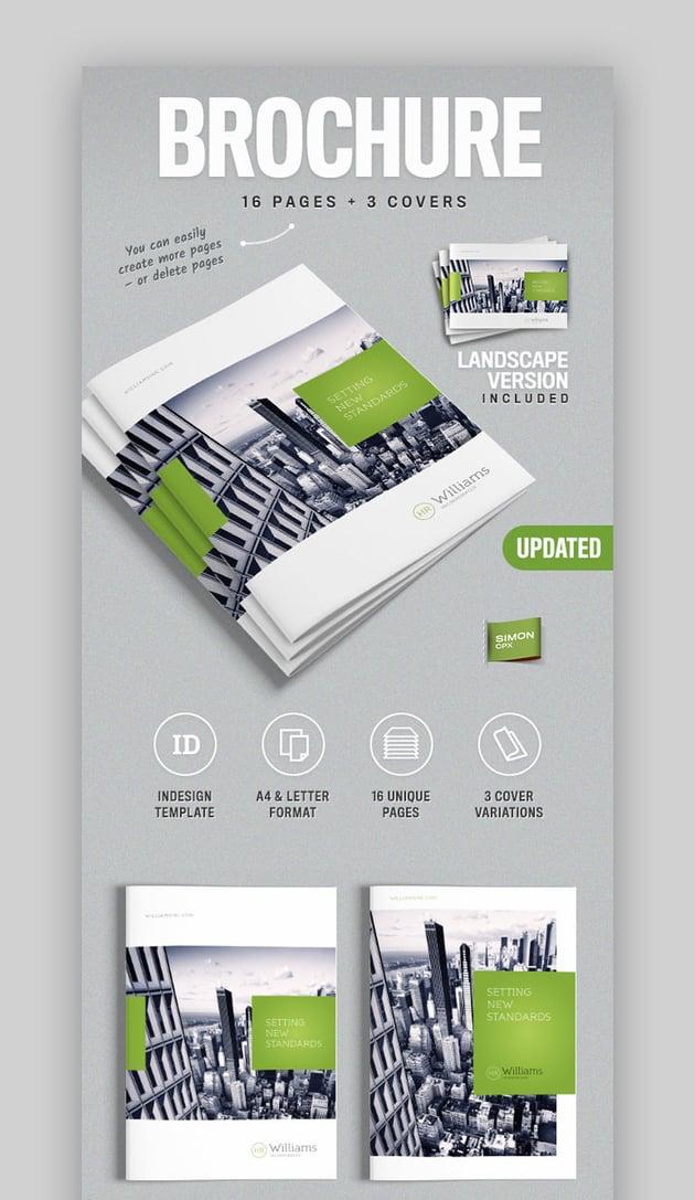 Corporate Business Brochure Template