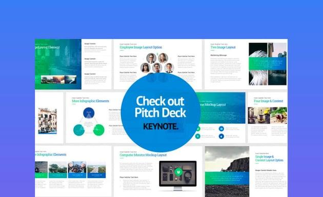 Pitch Deck Start Up - Keynote