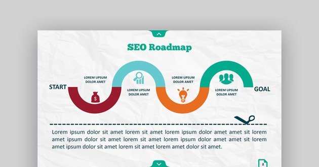 Infographic SEO PowerPoint Template