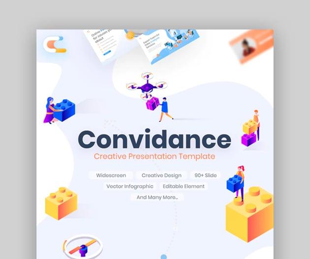Convidance Creative Keynote Template
