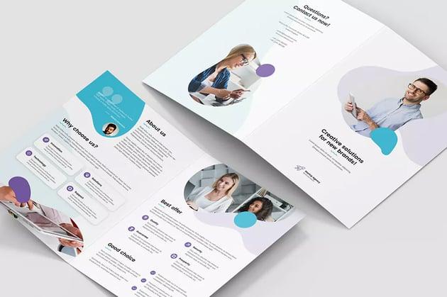 Brochure StartUp Agency Bi-Fold