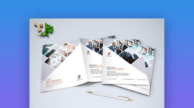 Minimalist Business Brochure Bi-Fold