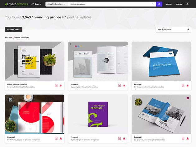 Top Branding Project Proposal Templates