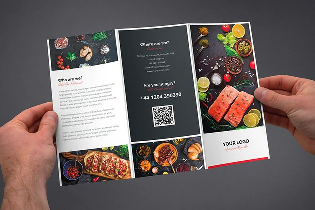 Brochure  Restaurant Tri-Fold