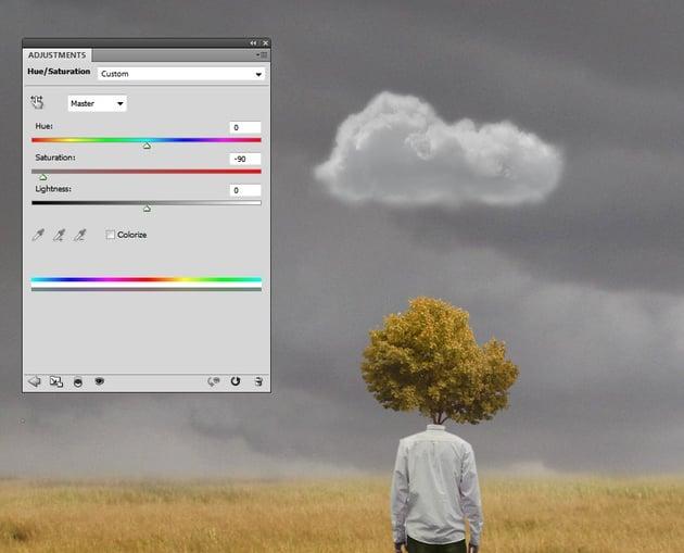 cloud hue saturation