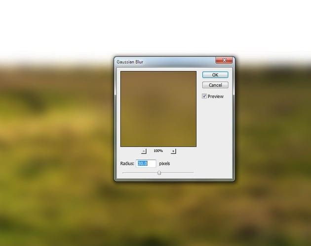ground gaussian blur