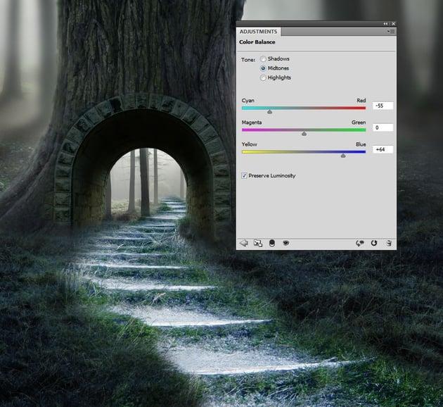pathway color balance