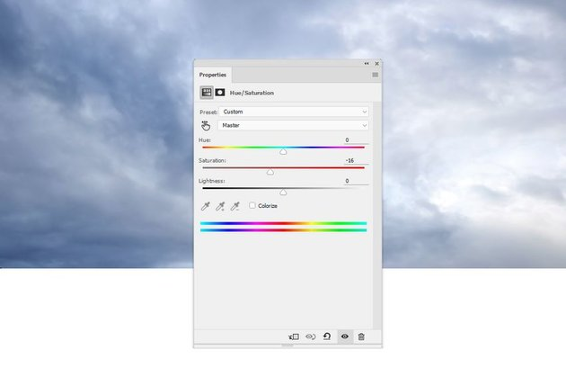 sky hue saturation