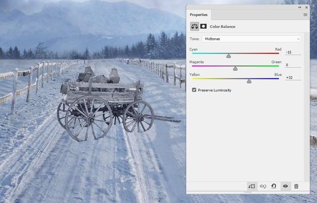 wagon color balance