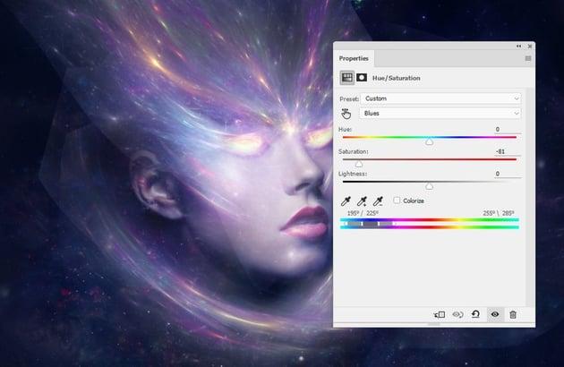 fantasy light hue saturation