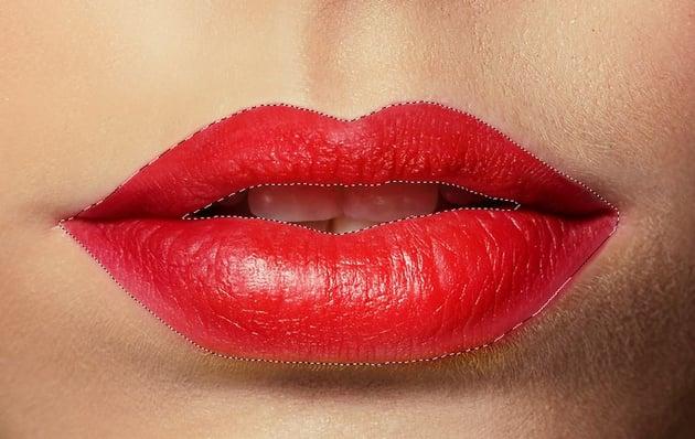 show lips selection