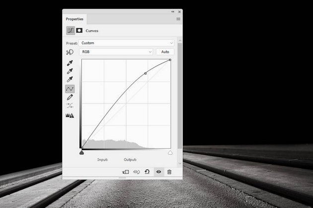 ground curves adjustment layer