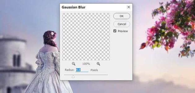flowers 1 gaussian blur