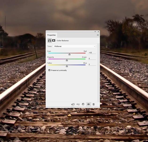 railway color balance