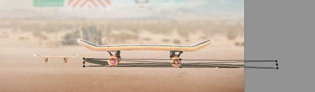 transform big skateboard shadow