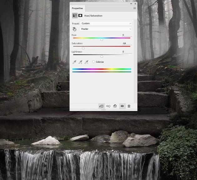 stream hue saturation