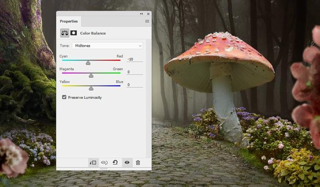 mushroom 1 color balance