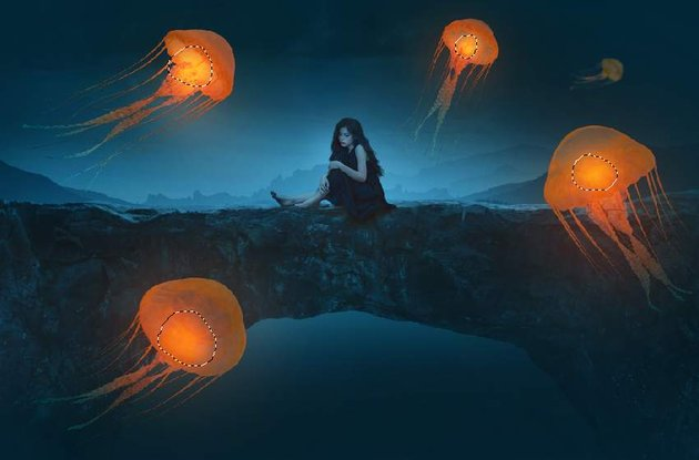 jellyfish glow 2